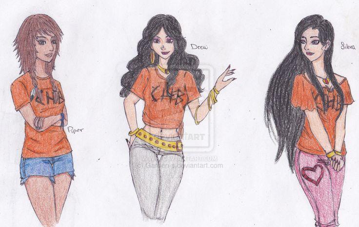 Las chicas de la cabaña de Afrodita.  (Saga de Percy Jackson)