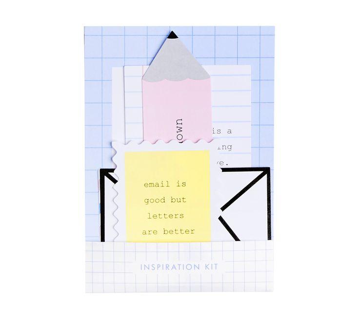 INSPIRATION KIT 10PK LETTERS 9 best Letters