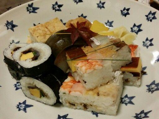 100 years sushi @ Gion, Kyoto