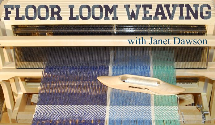 My friend's awesome online Floor Loom Weaving course! All sorts of great courses are available, so check them out - some are even free :)