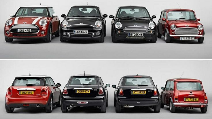Heres Proof Of Just How Big The 2015 Mini Cooper Is  Beautiful