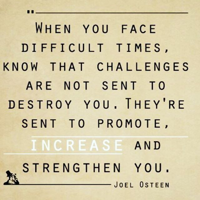 Quotes About Good Friends In Hard Times : Best ideas about joel osteen on today is