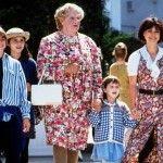 Mrs. Doubtfire cast, then & now