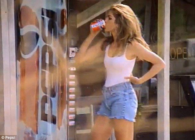 Iconic: Cindy Crawford's Pepsi ad