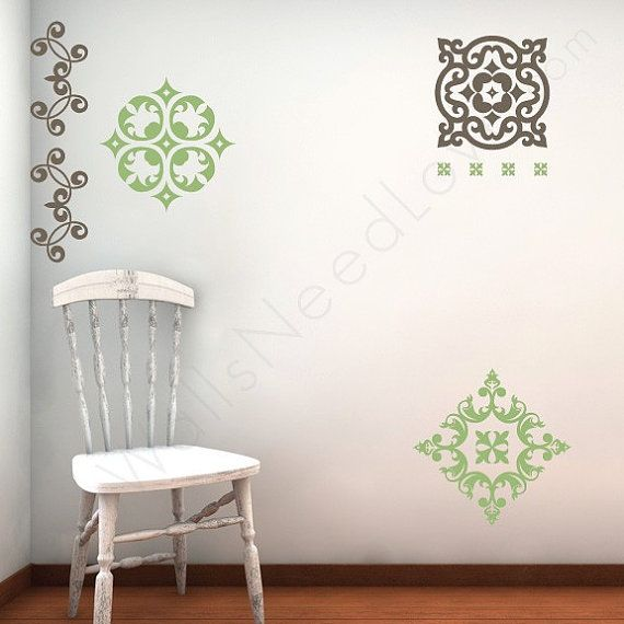 24 best Baroque Wall Decals images on Pinterest
