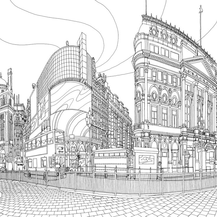 100 best fantastic cities images on Pinterest | Coloring books ...