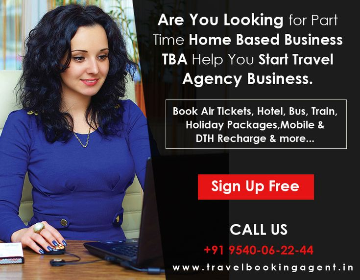 If you want to start a small business then try to start travel agency business with TBA. You can book Flight tickets, Hotel, Bus, Holiday packages, Mobile & DTH recharge more... @Make a call : +91 9540-06-22-44  # https://goo.gl/T7SOXj  #travelbookingagent #travelagencybusiness #travelagent #travelbusiness #starttravelagency #tba