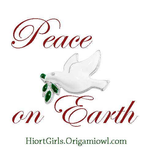 2017 #limitededition charms from #origamiowl #holiday #dove #peace #holiday #christmas
