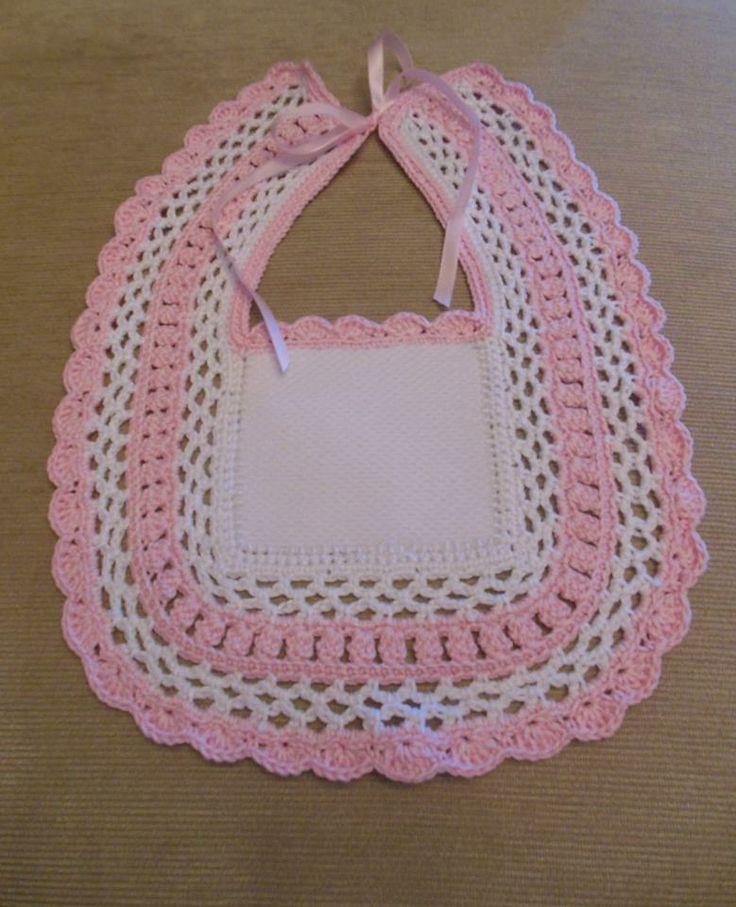 168 mejores im genes sobre puntillas en pinterest punto - Labores de crochet para bebes ...