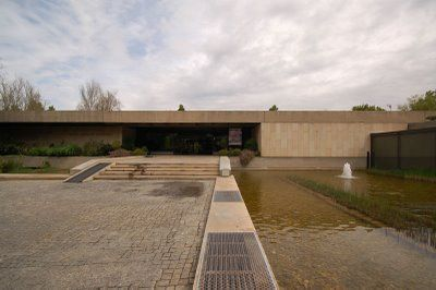 gulbenkian museum, lisbon, landscape