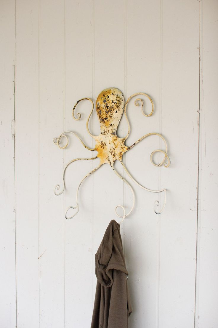17 best ideas about antique coat rack on pinterest best rack rustic coat rack and vintage - Coat hook octopus ...