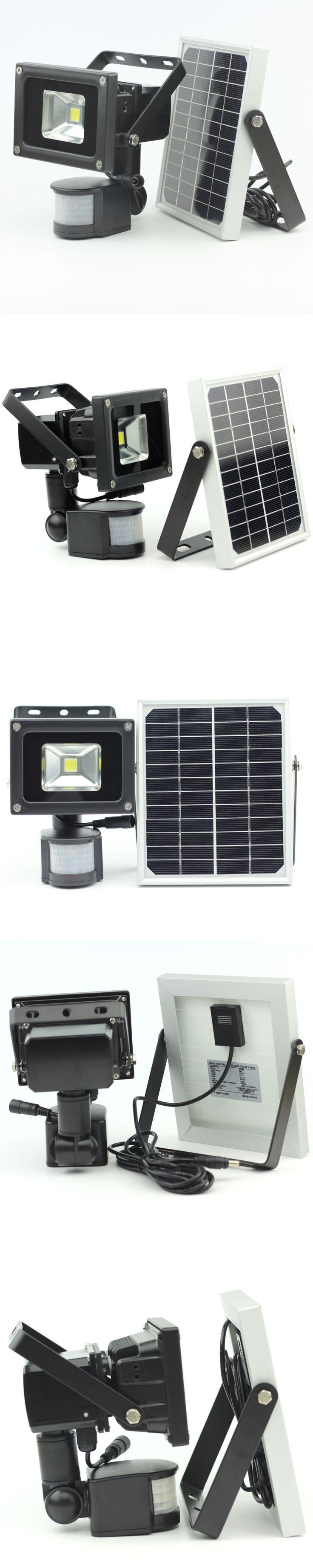 10W Solar Light Pir Motion Sensor LED Flood Light Infrared Motion Security Garden Light Outdoor Wall Lawn Lighting