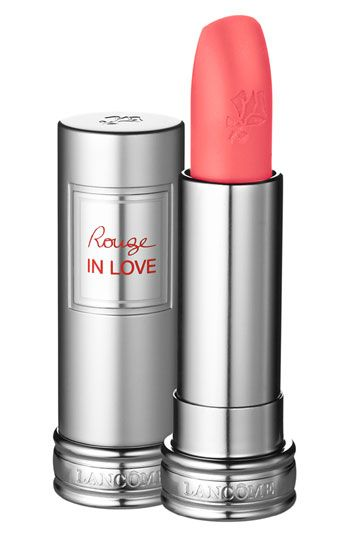Lancome Rouge In Love. red lipstick makeup products