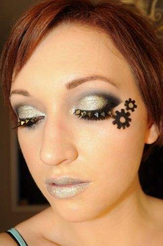 hunger games inspired make up tutorials for each district