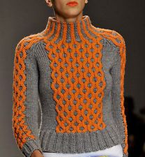 Women's Hand Knitted Turtleneck Sweater XS,S,M,L,XL,XXL Wool Hand Knit jacket 7