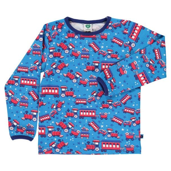 Smafolk Christmas Train Long Sleeved T-shirt