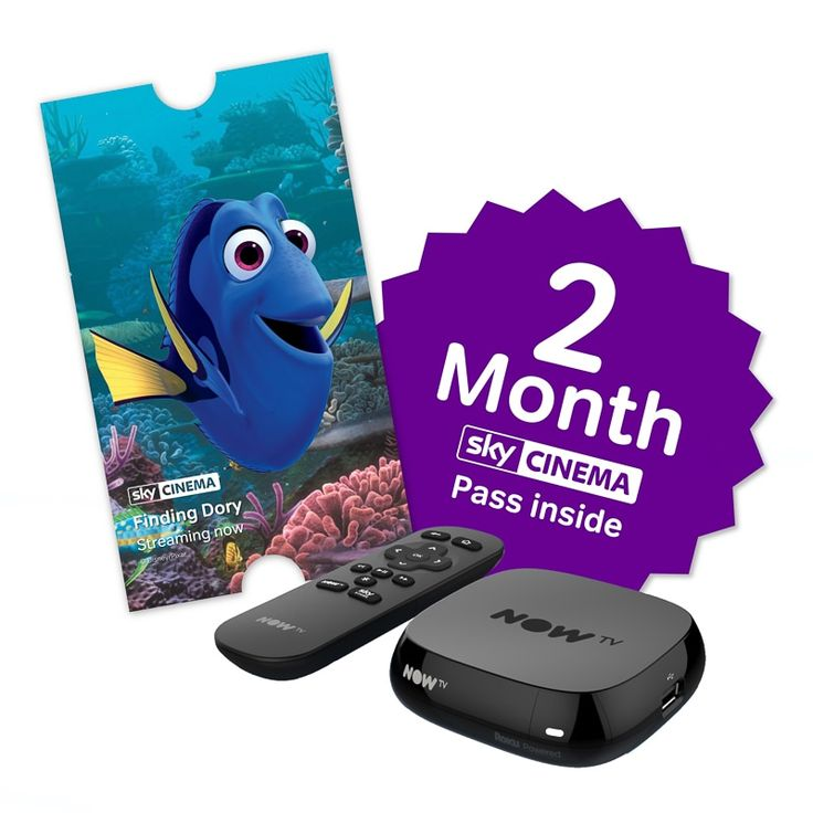 NOW TV Box + 2 Month Sky Cinema Pass - the easiest way to watch the TV you love. No installation, just hook it up to your broadband and start watching!