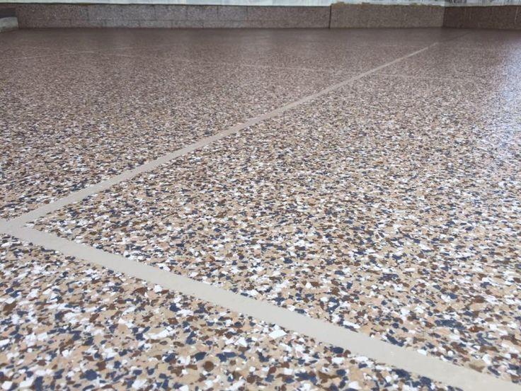 1000 Images About Epoxy Tile Flake Flooring On Pinterest