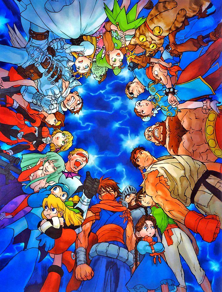 Marvel vs Capcom only game better is Marvel vs Capcom 2
