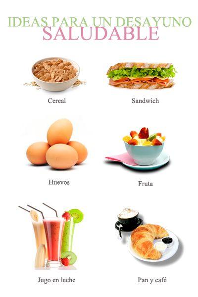 Desayunos ricos y saludables