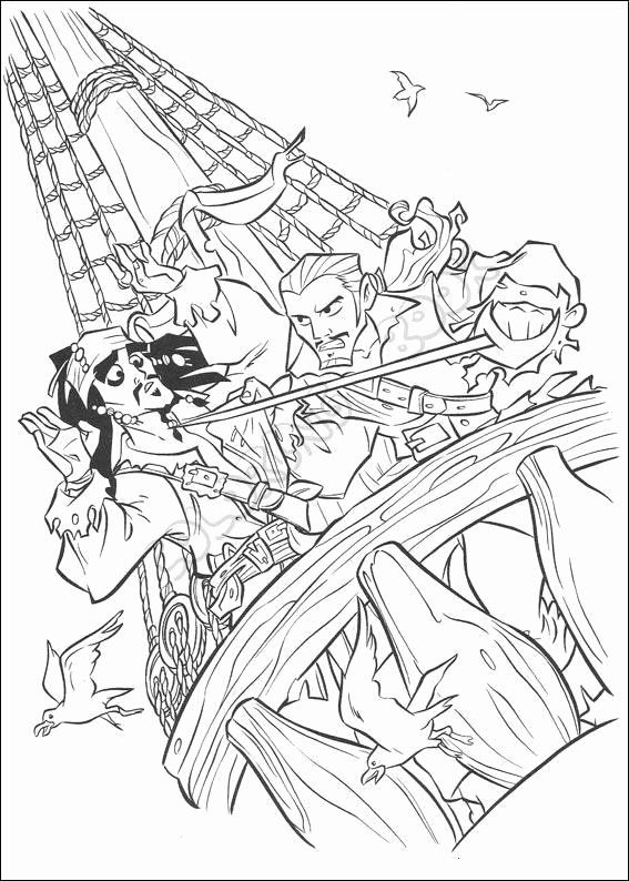 Pirates Of The Caribbean Coloring Page Beautiful Pirates The Caribbean Coloring Pages Coloring Pages Cool Coloring Pages Disney Coloring Pages