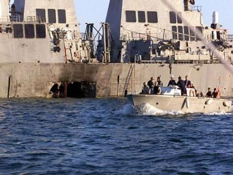 The USS Cole Bombing On October 12, 2000, suicide terrorists exploded a small boat alongside the USS Cole—a Navy Destroyer—as it was refueling in the Yemeni port of Aden. The blast ripped a 40-foot-wide hole near the waterline of the Cole, killing 17 American sailors and injuring many more.