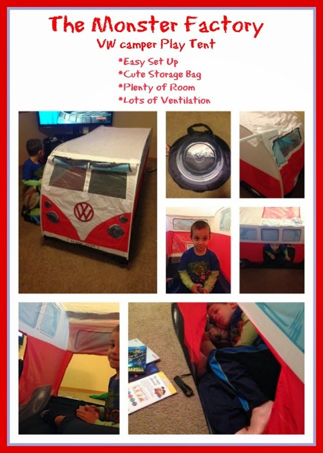 3sonshavei Giveaway The Adorable @TheMonsterFactory VW C&er Kids Tent Win this adorable tent  sc 1 st  Pinterest & 53 best Our VW Tents images on Pinterest | Vw tent Tents and Tent