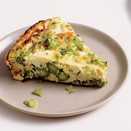 We're seeing green on this weekend's brunch menu! This flavor-packed veggie frittata will keep you coming back for more.