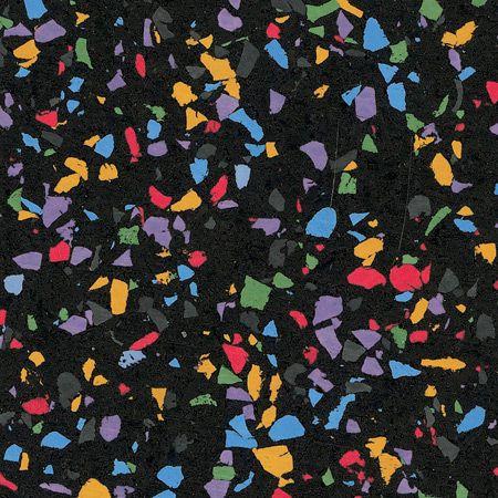Revêtement de sol en caoutchouc recyclé à usage professionnel 610A FISH FOOD ECOsurfaces Recycled Rubber Flooring