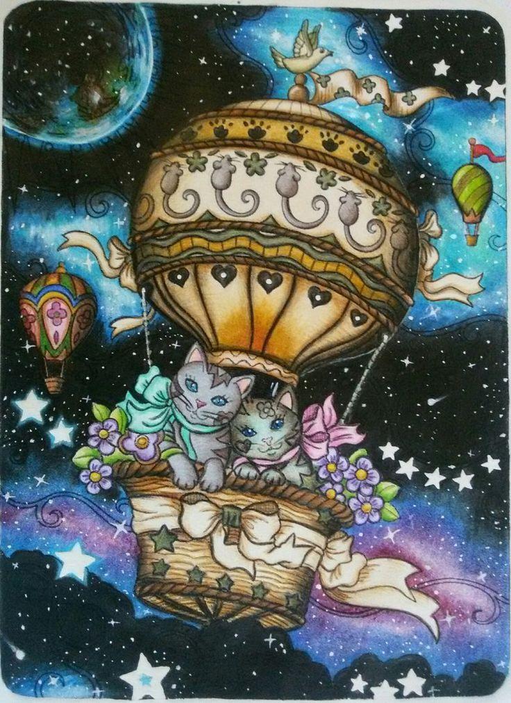 Раскраски антистресс для взрослых и детей;)) | Cat ...