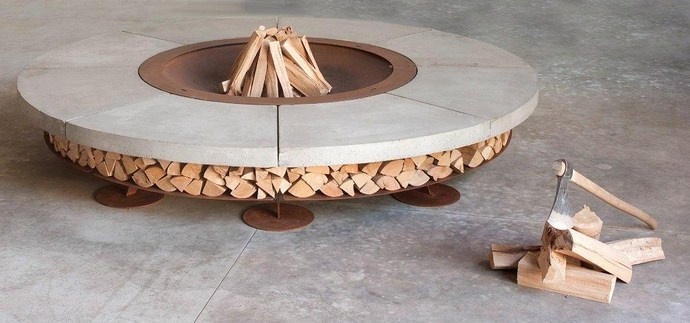 Ercole Outdoor Wood Fire, BF