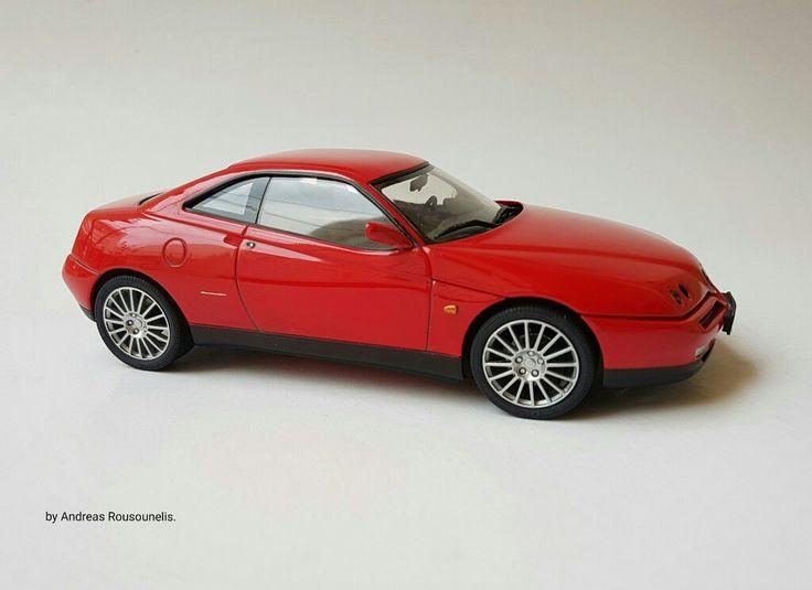 Alfa romeo gtv  1/24 scale