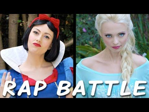 *** NOT FOR KIDS ****     PRINCESS RAP BATTLE: Snow White vs. Elsa [Video]
