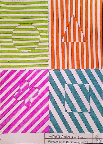 Punto, recta y plano. Rectas en la circunferencia. Ángulos. Rectas paralelas y perpendiculares Para trazar paralelas se ha de trabajar con con escuadra y cartabón.     &nbsp…