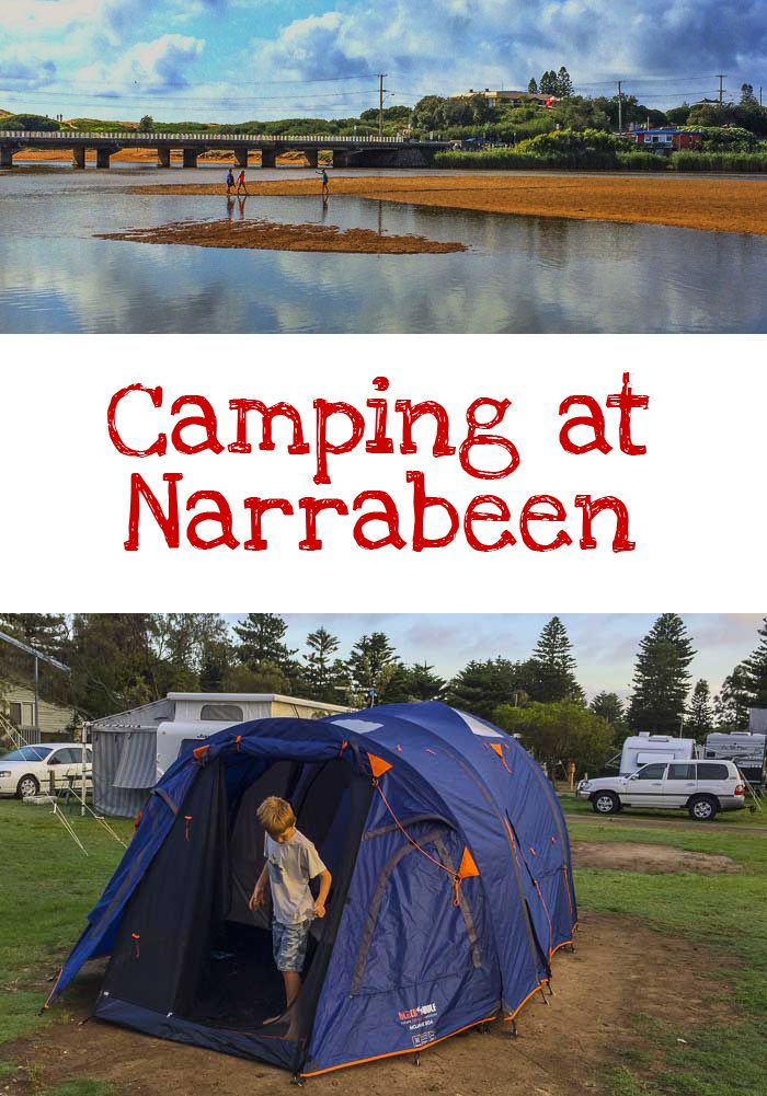 Camping at Narrabeen - A Sydney Family Staycation.  Read about our stay in this Northern Beaches hotspot. Good option for families visiting Sydney too.