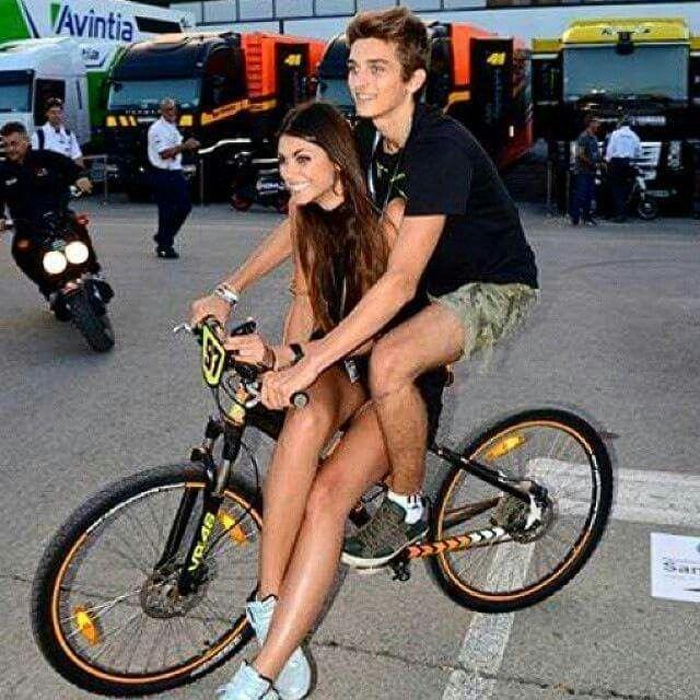 Linda Morselli & Luca Marini | Luca Marini | Pinterest | Vr46 and Valentino rossi