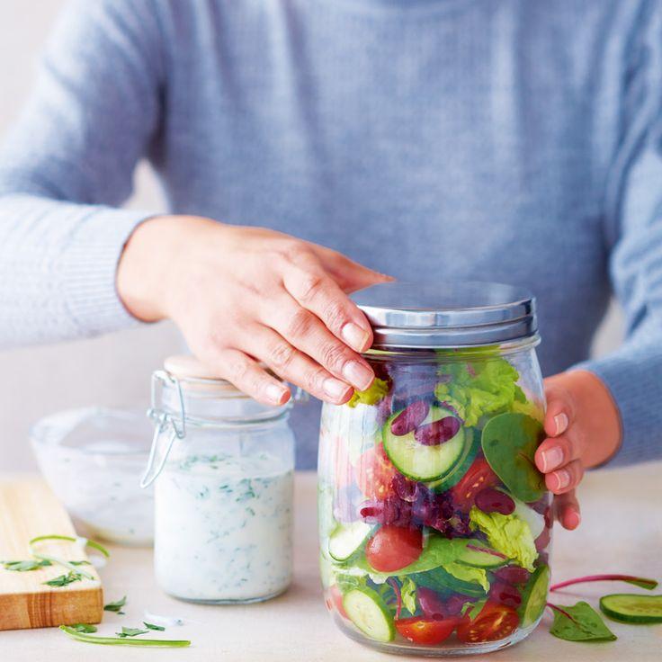 Lunchsalade met yoghurtdressing | Gezonde Recepten | Weight Watchers