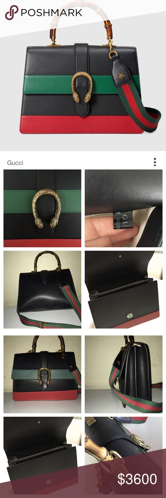 f9256bb2b Gucci Dionysus Bamboo Top Handle 100% Authentic, Worn, Has Some Wear to it