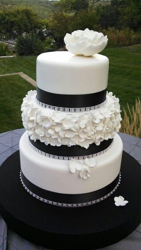 Fondant wedding cakes pinterest