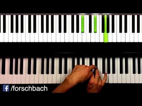 All of me John Legend - Piano Tutorial deutsch - Teil 2 - german - YouTube