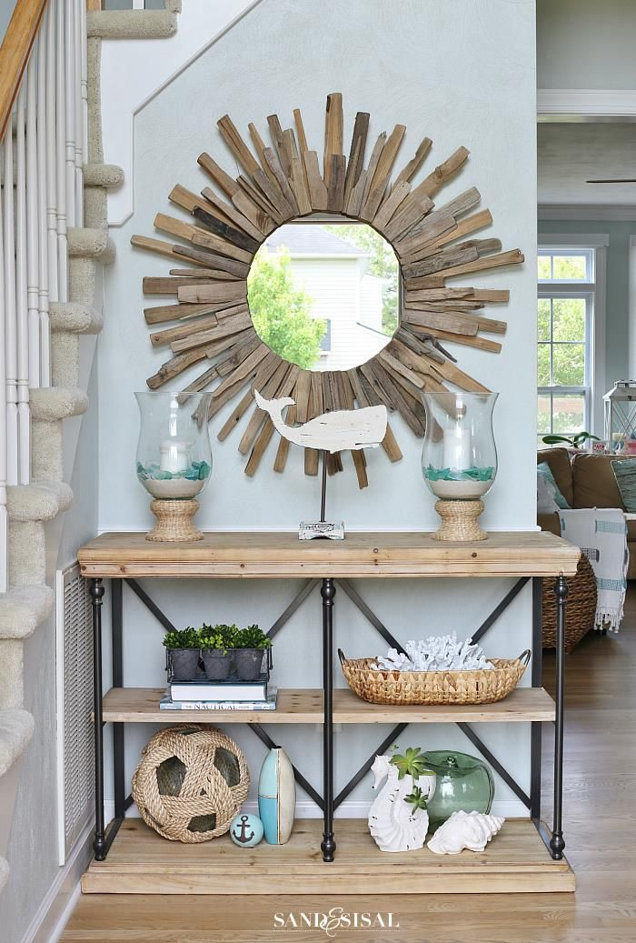 4 simple ways to create a welcoming entryway by sand for Simple foyer designs