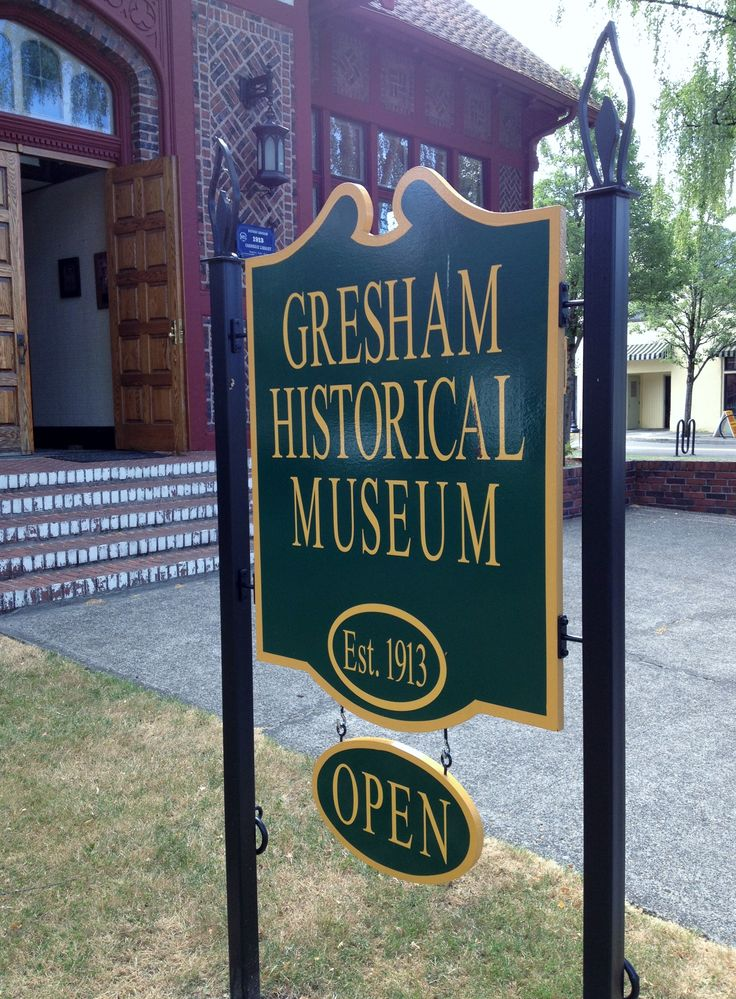 Visit the Gresham History Museum Learn more