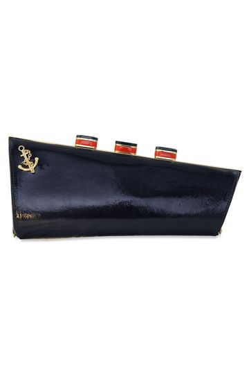 Kate Spade - All Aboard Ship Clutch. This is too cool!