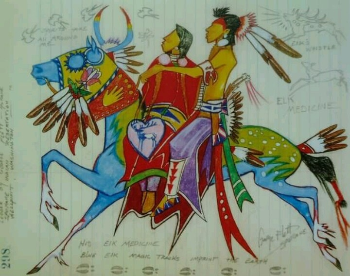 George Flett Spokane Tribal member Wellpinit Washington