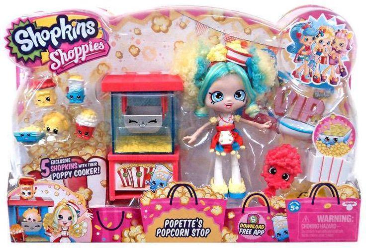 Shopkins Shoppie Popette's Popcorn Stop #MooseToys #Dolls