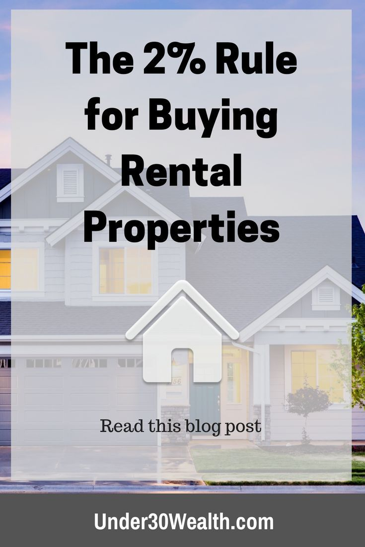 The 2% rule is a real estate investing strategy many landlords follow when buying rental property. It helps you analyze a real estate deal to ensure you have enough cash flow to support your expenses and still make a profit. Click to learn this investing rule of thumb.