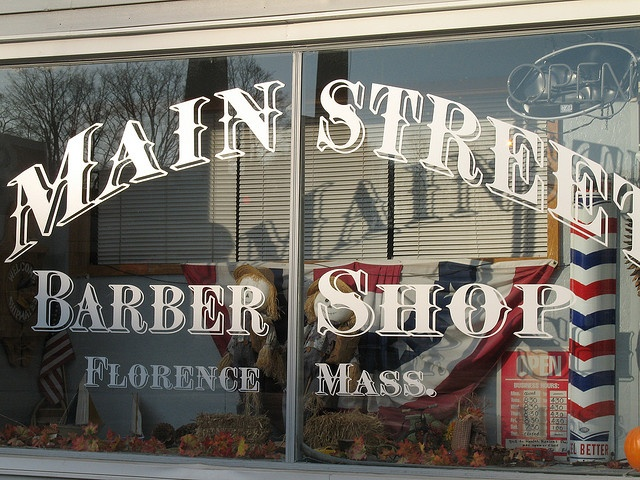 Main Street Barber Shop by trailerfullofpix, via Flickr