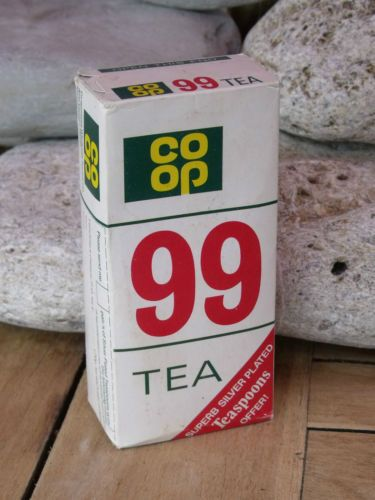 Co-op Tea, my auntie used to get this & tip it into a wall mounted tea caddy.