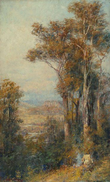 Landscape - Frederick McCubbin