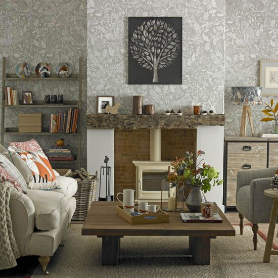 Wallpapering A Chimney Breast Is A Great Way To Create A Focal Point In  Your Living Room, Bedroom Or Dining Room. Follow Our Step By Step Guide On U2026